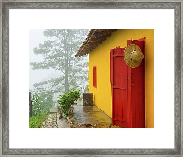 Top Of The Mountain Framed Print