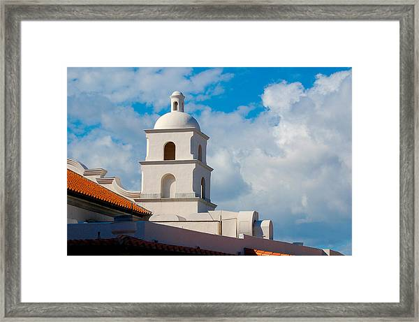Topper Framed Print