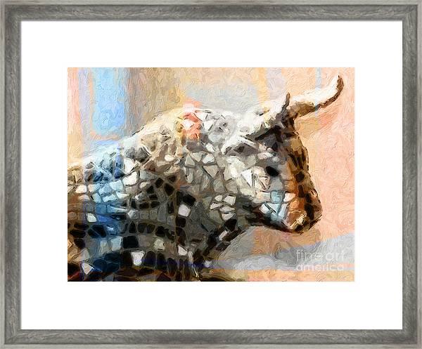 Toro Taurus Bull Framed Print