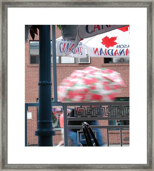 Toronto Afternoon Framed Print
