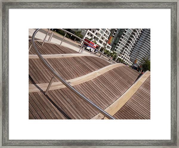 Toronto's Harbourfront Framed Print