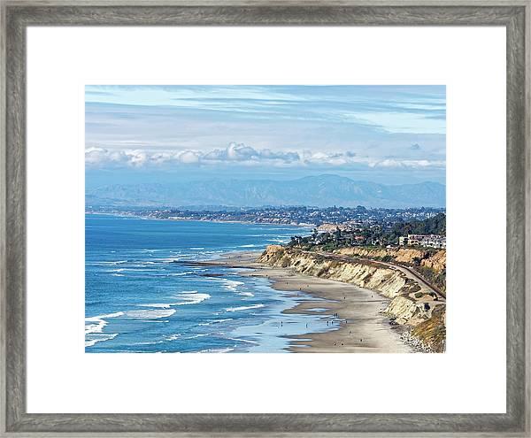 Torrey Pines Framed Print
