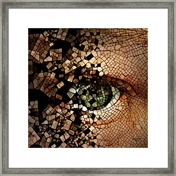 Total Mental Deterioration Framed Print