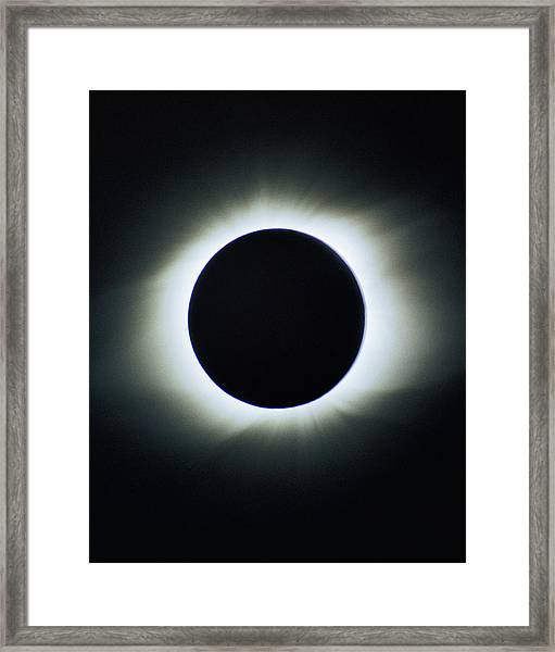Total Solar Eclipse - Aruba 1998 Framed Print