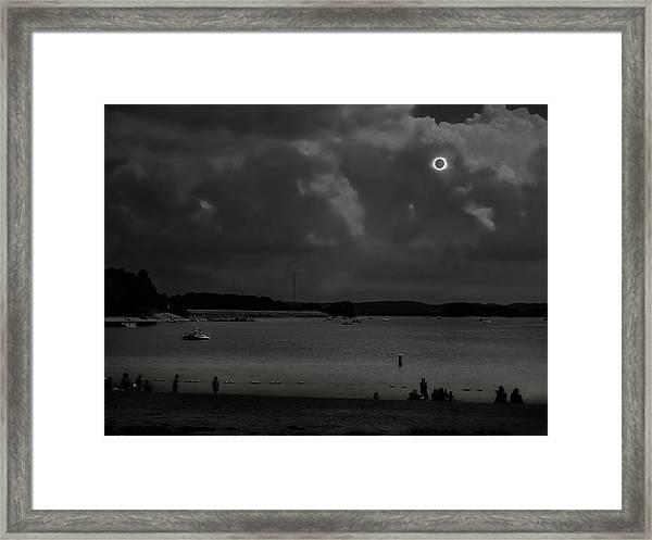 Total Solar Eclipse At Clemson Framed Print