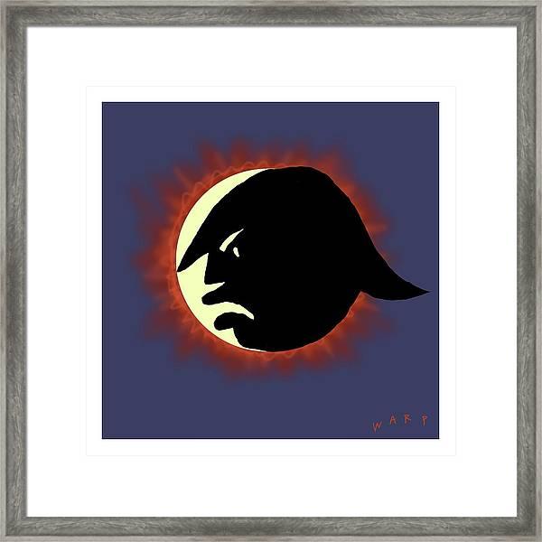 Total Trump Eclipse Framed Print