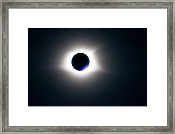 Totality Unfiltered Framed Print