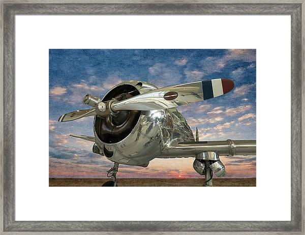 Touch And Go II Framed Print