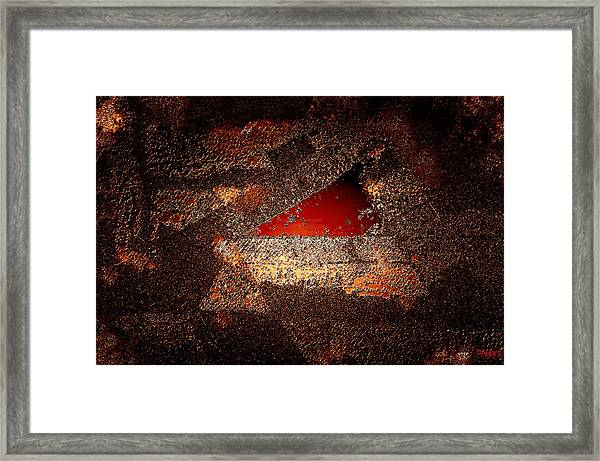 Touch Of Brown Framed Print