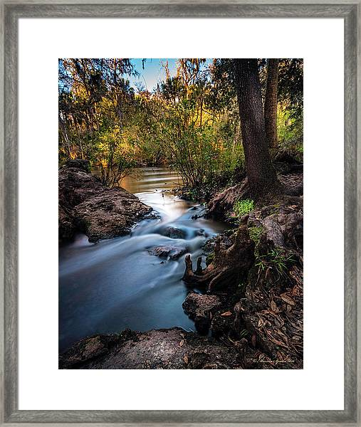 Touchable Soft Framed Print