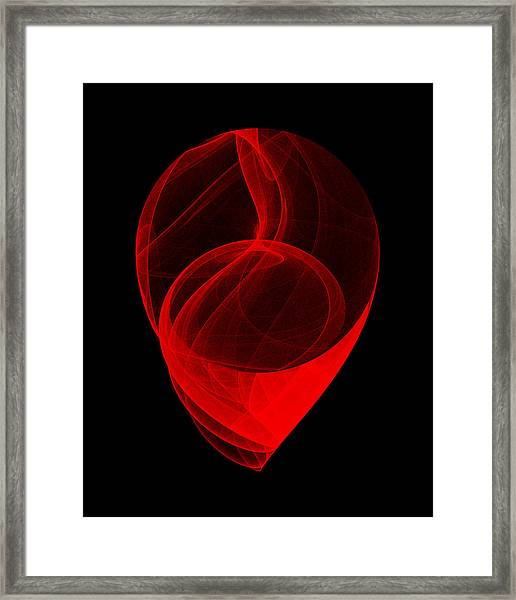 Touched Stone II Framed Print by Robert Krawczyk