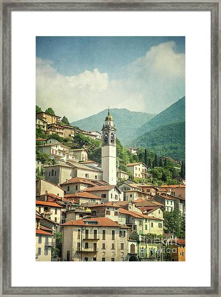 Touching Heaven Framed Print