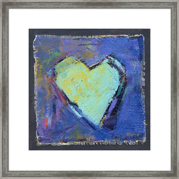 Love 7 Framed Print