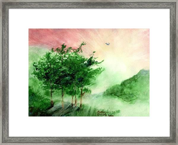 Toward The Promised Land Framed Print