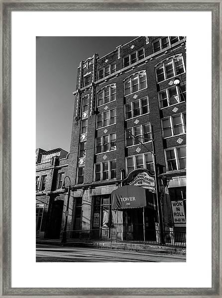 Tower 250 Framed Print
