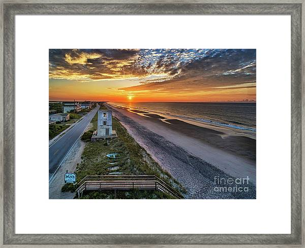 Framed Print featuring the photograph Tower #3 by DJA Images