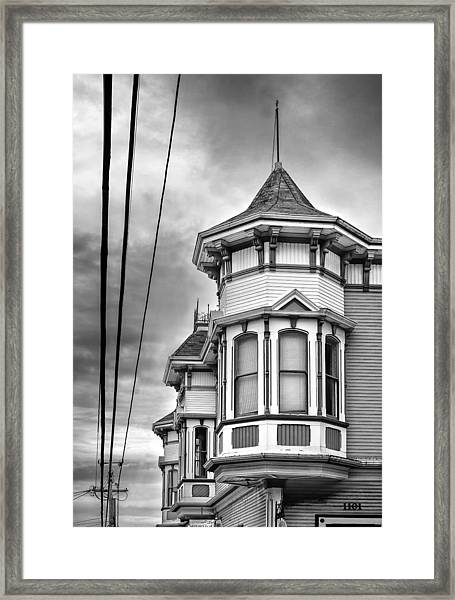 Tower And Power Framed Print