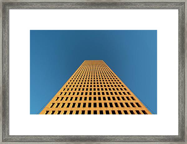 Tower At Sunset Framed Print