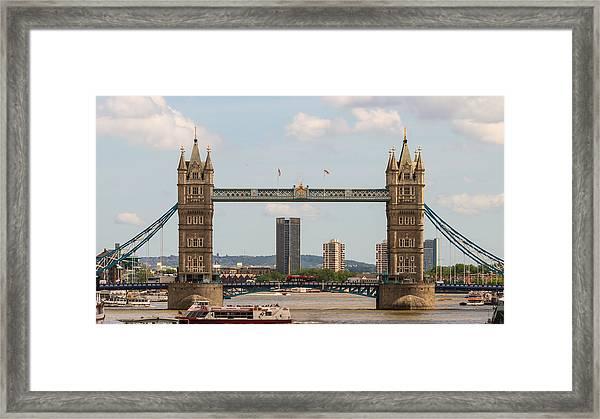 Tower Bridge C Framed Print