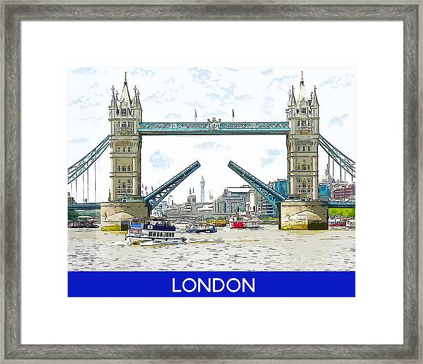 Tower Bridge London England Framed Print