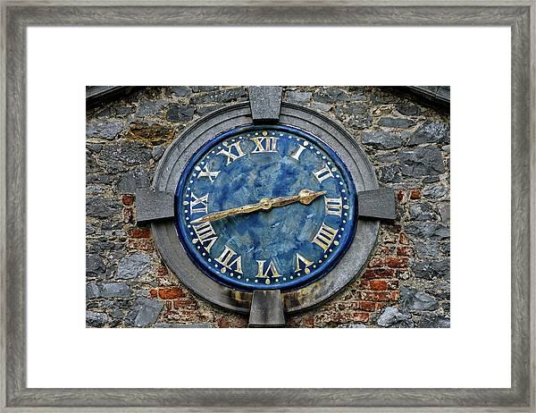 Tower Clock Framed Print
