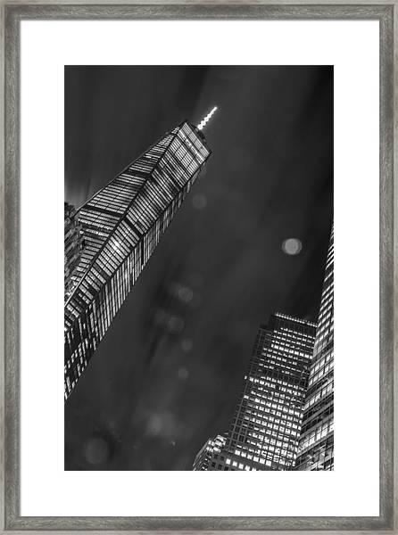 Tower Nights Framed Print
