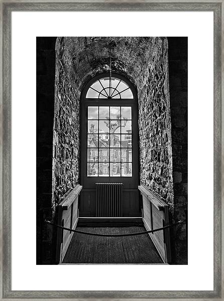 Tower View Framed Print