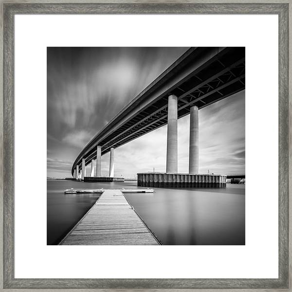 Towering Bridge Framed Print