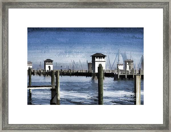 Towers And Masts Framed Print
