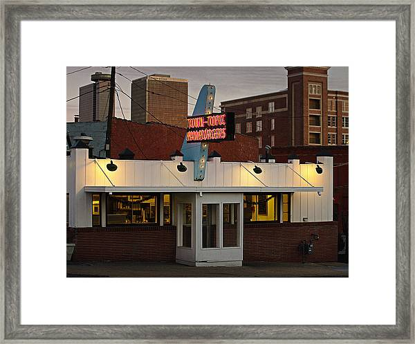 Town Topic Framed Print