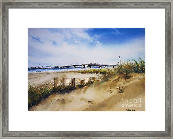 Townsends Inlet Framed Print