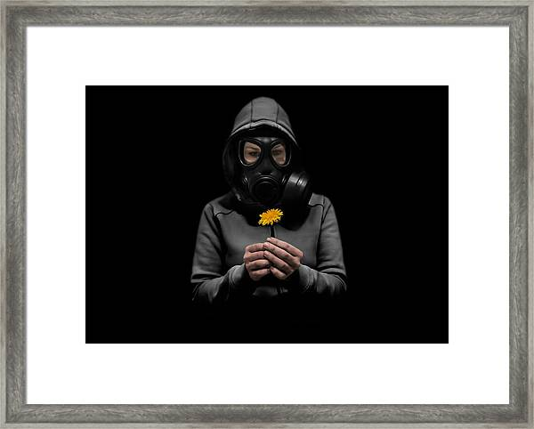 Toxic Hope Framed Print