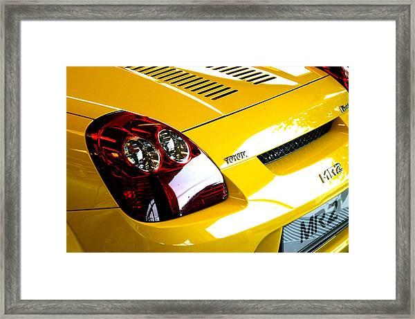 Toyota 16 Framed Print by Jez C Self