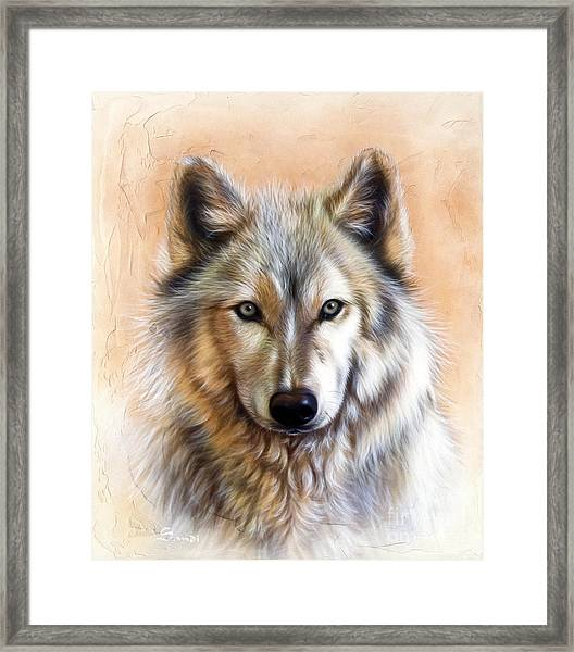 Trace Two Framed Print