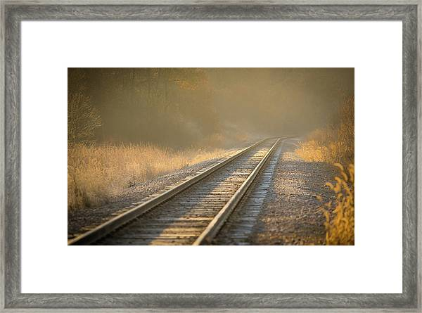 Tracks Framed Print