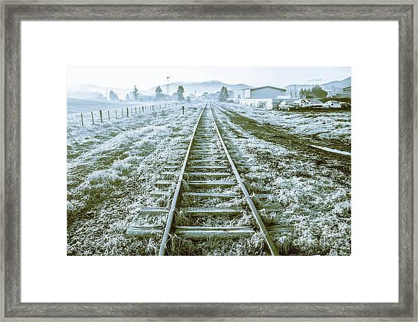 Tracks To Travel Tasmania Framed Print