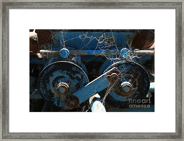 Tractor Engine IIi Framed Print
