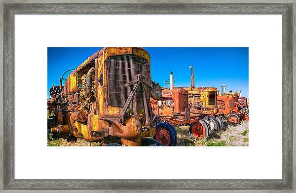Tractor Supply Framed Print