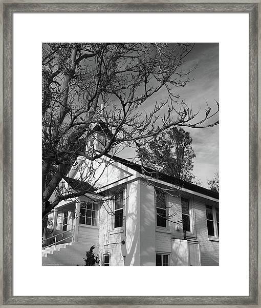 Traditional Country Church Framed Print