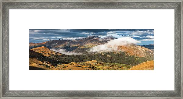 Trail Ridge Overlook Framed Print by T-S Fine Art Landscape Photography
