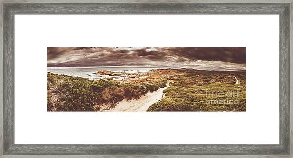 Trail To Western Tasmania Framed Print