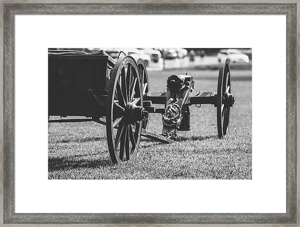 Trailer And Canon Framed Print