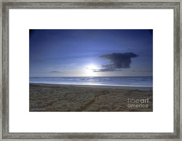 Trails End Framed Print by Larry Keahey