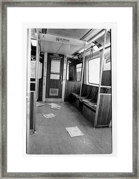 Train Car  Framed Print