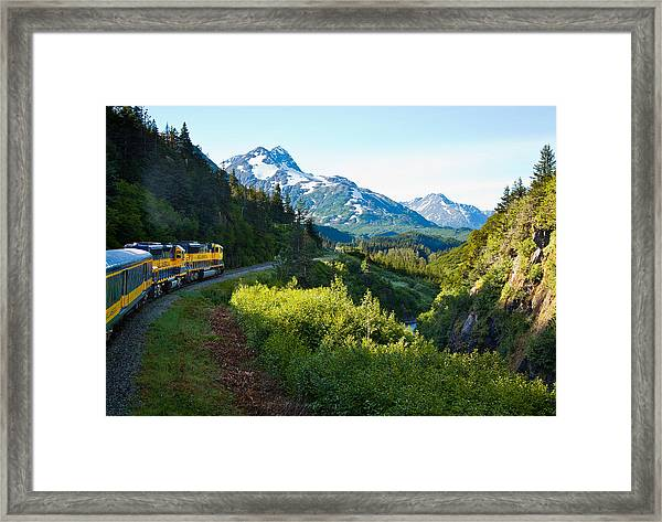 Train From The North Framed Print