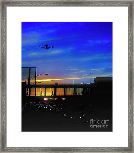 Trains Planes And Automobiles  Framed Print