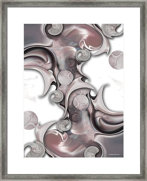 Trancendental Soul Of Innocence Framed Print
