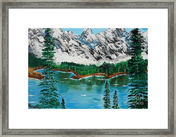Tranquil Countryside  Framed Print