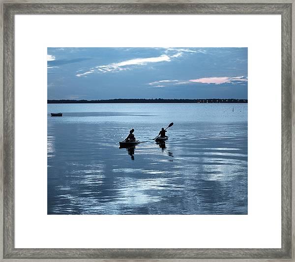 Tranquil Journey Framed Print