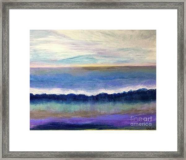 Tranquil Seas Framed Print
